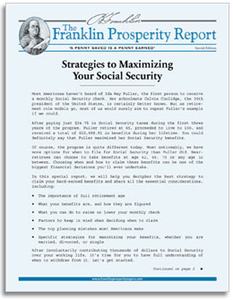Secrets to Maximizing Your Social Security Benefits