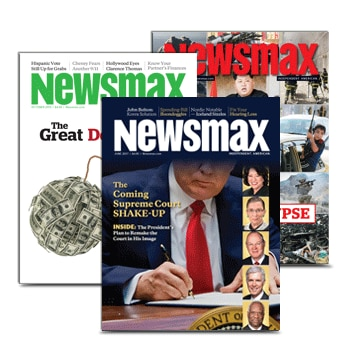 Newsmax Magazine covers